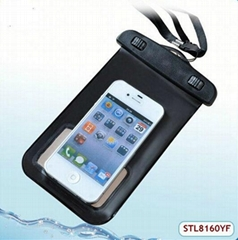 fashion design iphone 4/4s waterproof cover case
