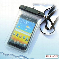 Fast delivery swiming waterproof cover for cellphone
