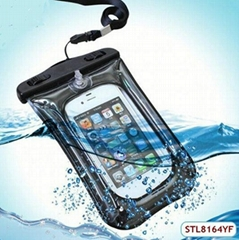 2015 Hot Sale Cute PVC Waterproof Mobile Phone Case for iPhone 4