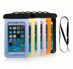 China waterproof plastic pouch for iphone4 4s