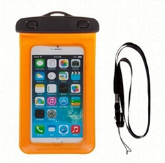 High quality waterproof pouch for cell phone with ipx8 certificate