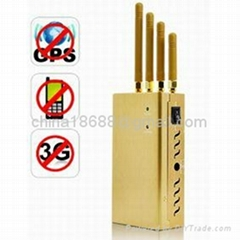 High Power Signal Jammer for GPS + Cell Phone + 3G