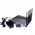 5 Band Cellphone Jammer with Remote