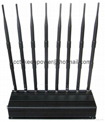 High Power WiFi GPS Cell Phone Jammer