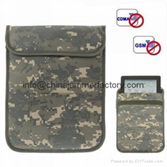 Camouflage Tablet PC Signal Blocking Bag Anti-Radiation Sleeve Pouch