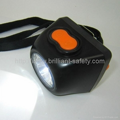LED cordless miner lamp mining cap light