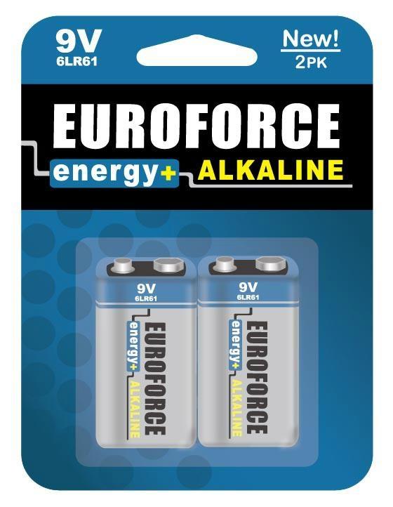 Alkaline Battery 9V size 6LR61