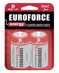 Zinc Manganese Battery D size R20