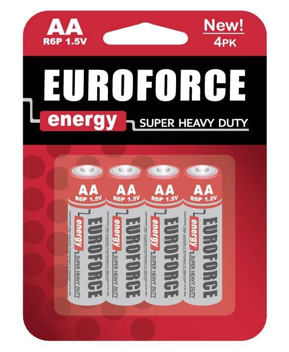 Zinc Manganese Battery AA size R6