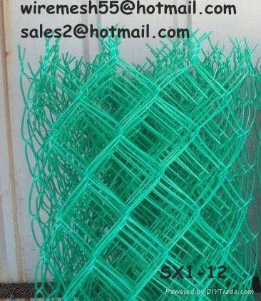 PVC 勾花网护栏网 5