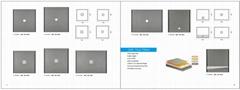 SMC/BMC 貼瓷磚用 淋浴盆(防水盤)