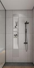 SMC  bathroom shower niche  matt finish long shower niche