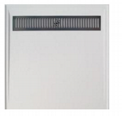 Popular glossy white 900*900mm SMC shower base for bathroom