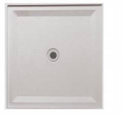 Hot sale glossy white 900*900mm SMC shower base for bathroom