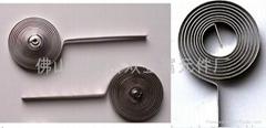 低溫盤狀雙金屬元件