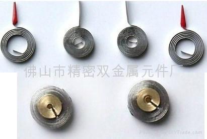 高溫盤狀雙金屬元件 1