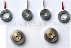 高溫盤狀雙金屬元件