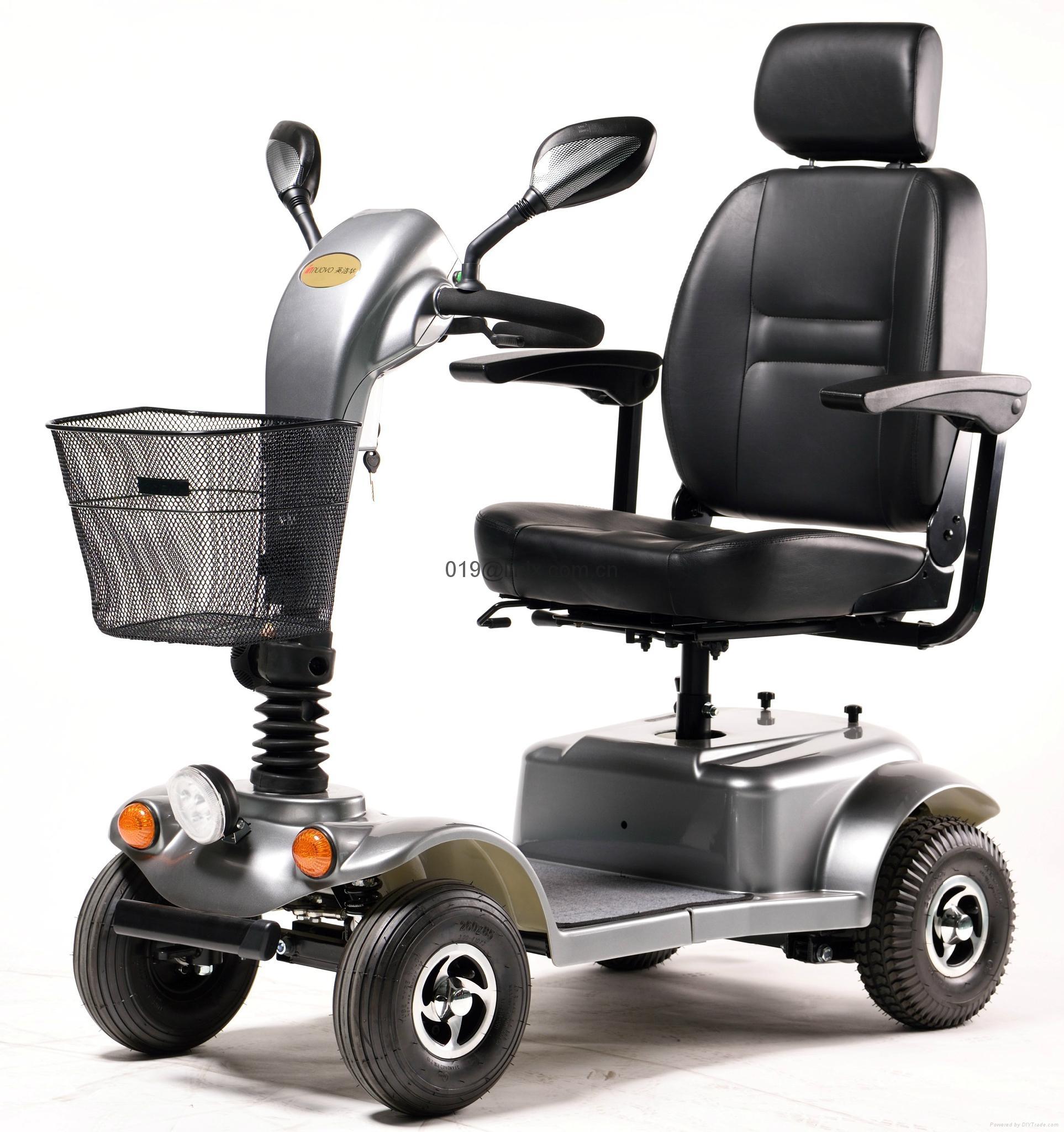 老年电动代步车残疾人电动轮椅四轮小电动车401-1C 1