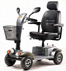 老年電動代步車殘疾人電動輪椅四輪小電動車401-1C