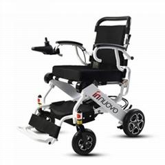 英洛華電動輪椅車智能上飛機全自動殘疾人老年代步折疊超輕便鋰電