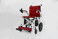 最轻便型可折叠电动轮椅16公斤锂电池