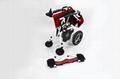 最轻便型可折叠电动轮椅16公斤锂电池  2