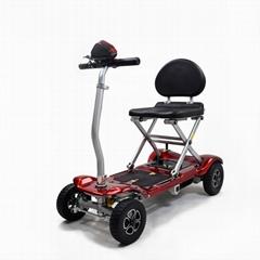 遙控電動折疊老年代步車一鍵折疊