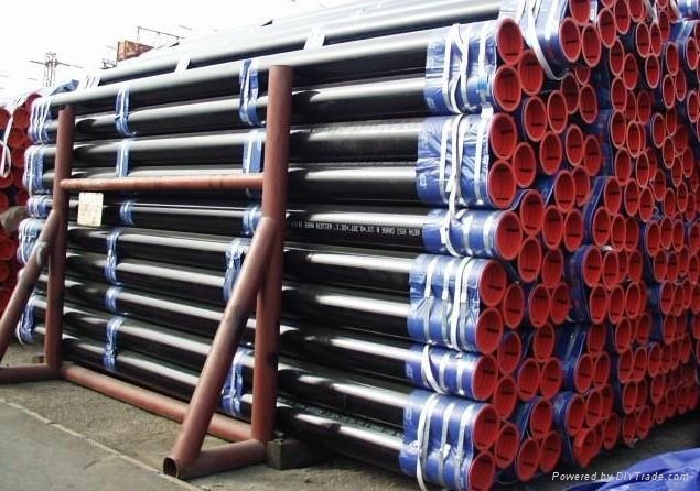 SEAMLESS STEEL PIPE ASTM A106 53 API GrB 5L  4
