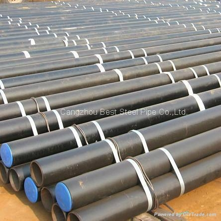 SEAMLESS STEEL PIPE ASTM A106 53 API GrB 5L  1