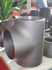 butt welded tee pipefittings