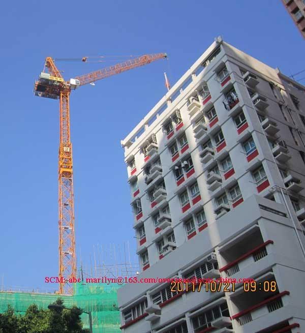 Luffing tower crane SCM-D228 5
