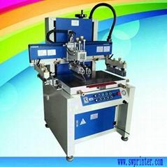 Flat screen printing machine