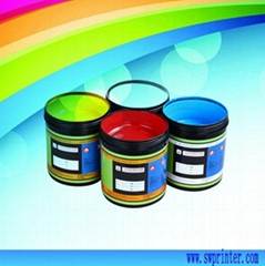 Silicone printing ink