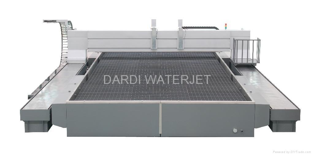 Waterjet---Dwj40 Series Bridge CNC Cutting Table