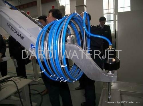 Waterjet Cutting System---Dcm Robot Water Cutting System
