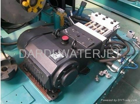 Water Jet Cutting System Three Plunger Pump Uhp Waterjet