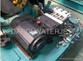 Water Jet Cutting System---Three Plunger Pump Uhp Waterjet Cleaning System