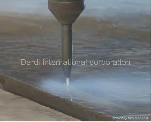 Water Jet Cutting Metal