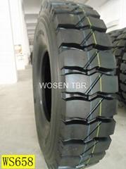 TBR tyre 1200R20 drive pattern