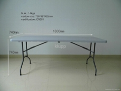 6' FOOT REGULAR FOLDING TABLE