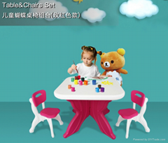 kids table $ chairs set