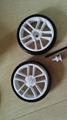 EVA wheels model baby stroller wheel shopping bag wheel