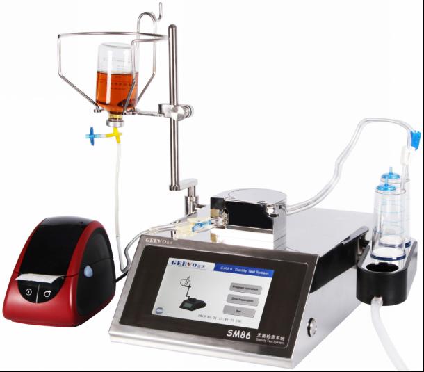 Sterility test device SM86 1