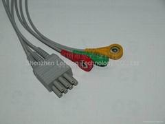 Move ECG cable