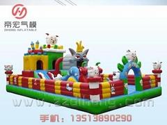 喜羊羊充氣玩具城堡樂園