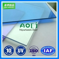 clear plastic roofing sheet  polycarbonate solid sheet