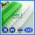 types of polycarbonate sheet twin wall