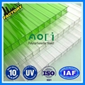 transparent roofing triple wall polycarbonate hollow sheet 1