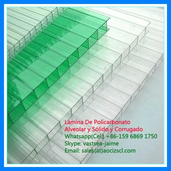 greenhouse polycarbonate twin wall polycarbonate sheet 4