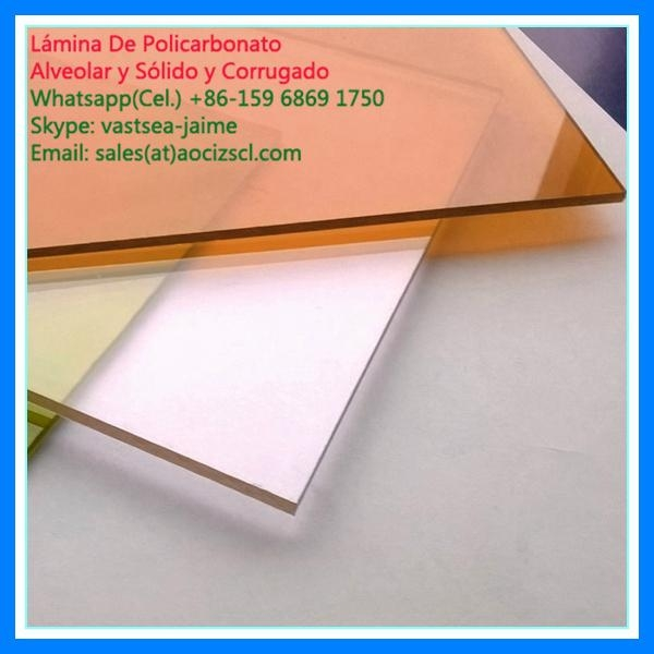 clear plastic roofing sheet  polycarbonate solid sheet 3
